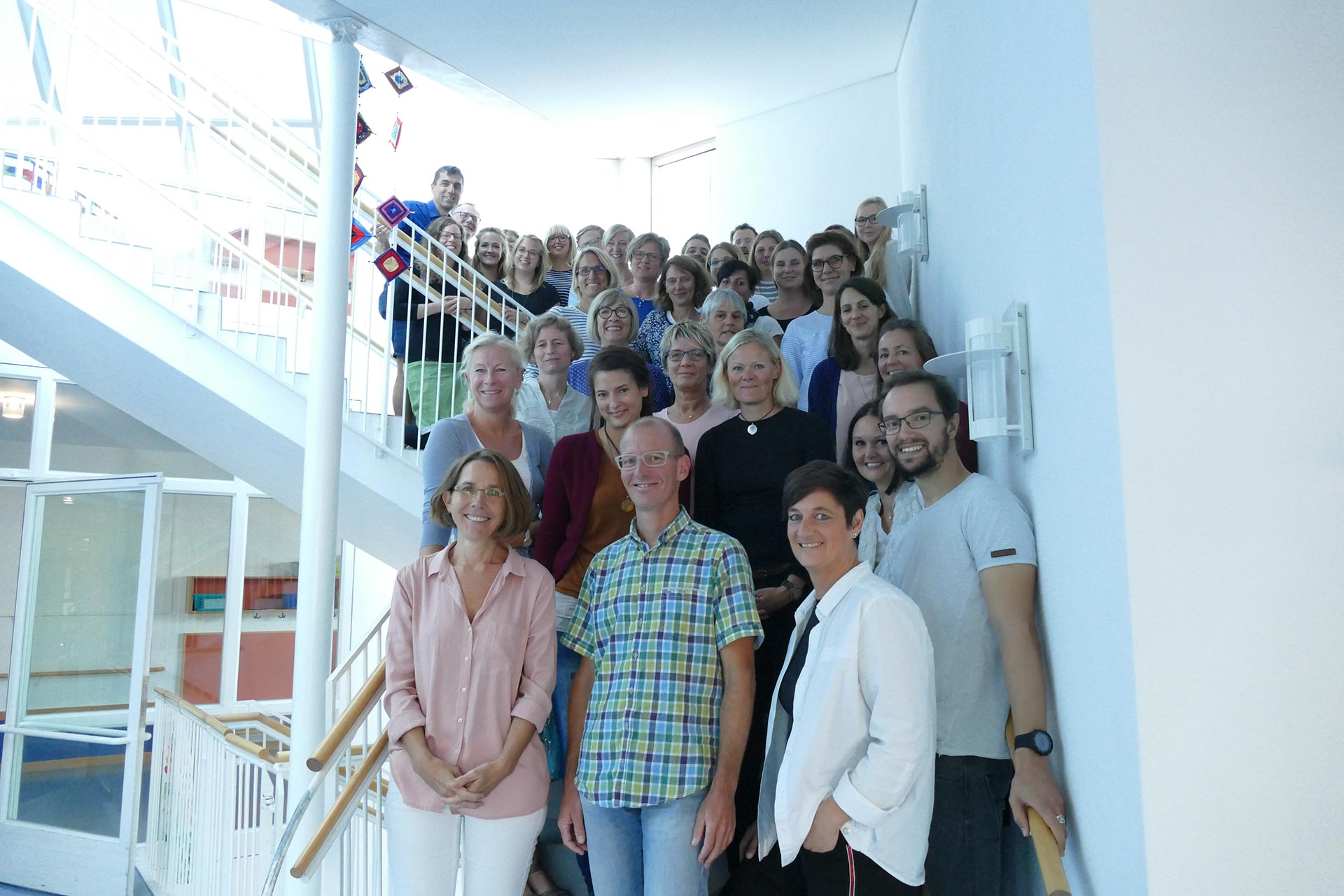 Lehrerkollegium Astrid Lindgren Schule Kempten Schuljahr 2018/2019